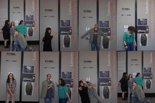 """Alunos da Turma C em visita à """"Latitudes: Mestres Latino-Americanos na Coleção FEMSA"""" - Instituo Tomie Ohtake."""