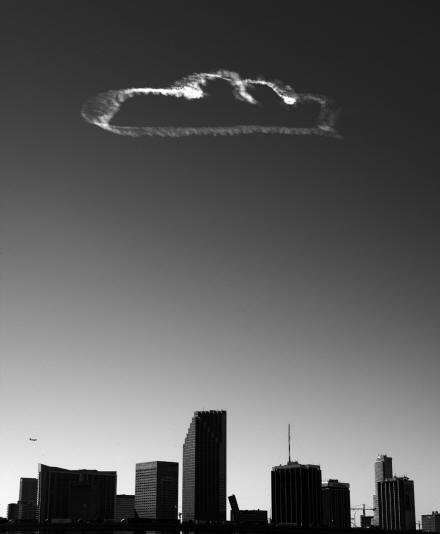 """Da série """"Nuvens"""", 2001."""
