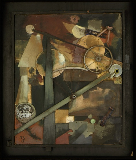 "Kurt Schwitters, ""Construções para Damas Nobres"", 1919."